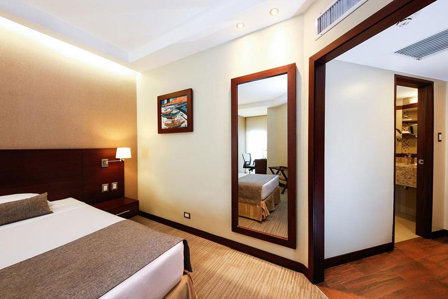 Hôtel Continental, Guayaquil, chambre standard