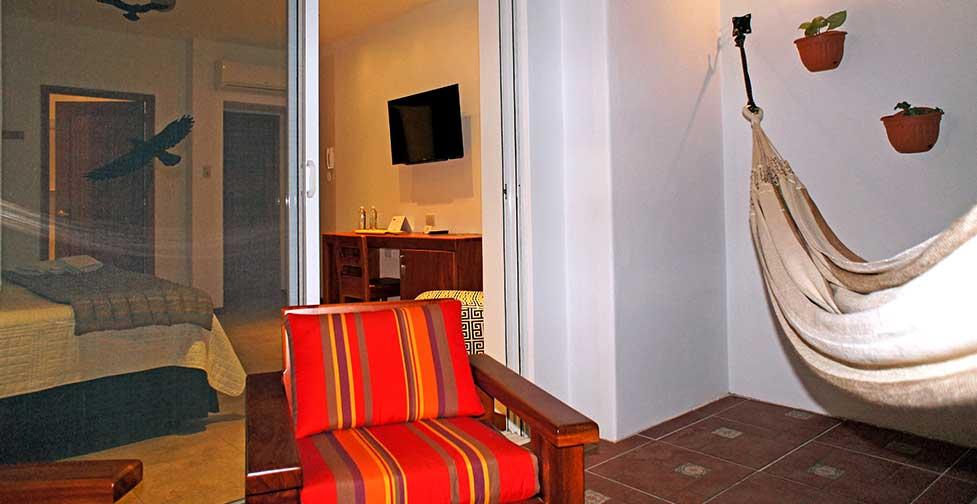 îles Galapagos: Premium balcon de l'hôtel Cucuve Suite