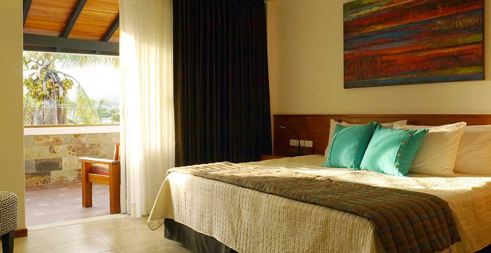 îles Galapagos: chambre Premimum de l'hôtel Cucuve Suite
