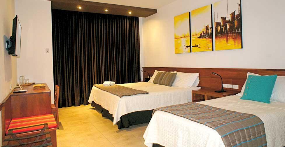 îles Galapagos: chambre Standard de l'hôtel Cucuve Suite
