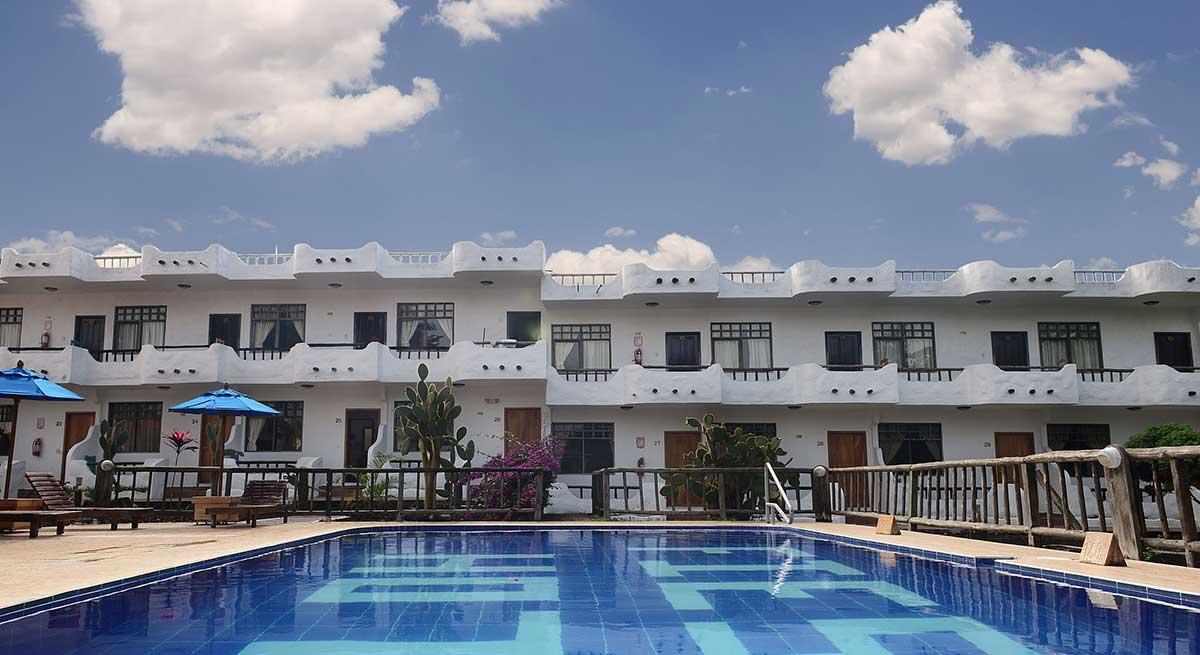 Hôtel Fiesta, îles Galapagos, piscine
