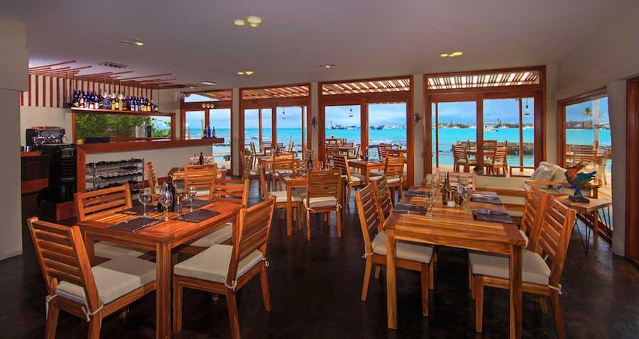 îles Galapagos: hôtel Galapagos Habitat, restaurant