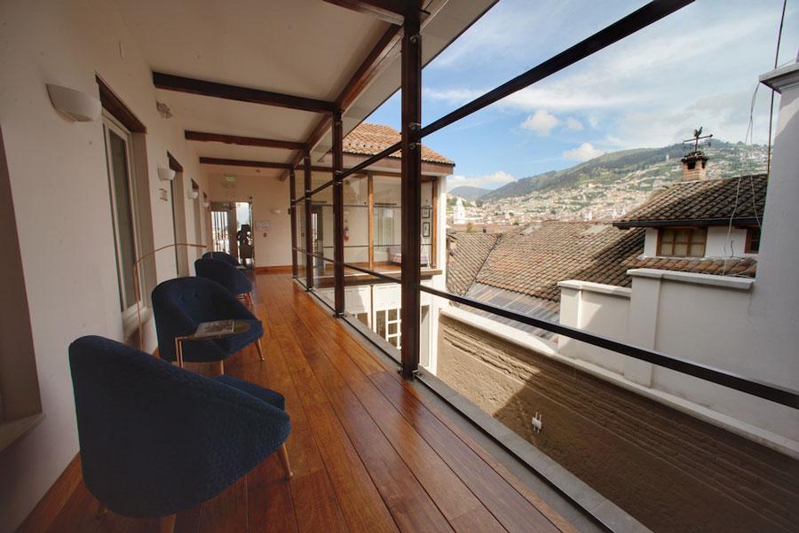 Hôtel Illa, Quito, couloir