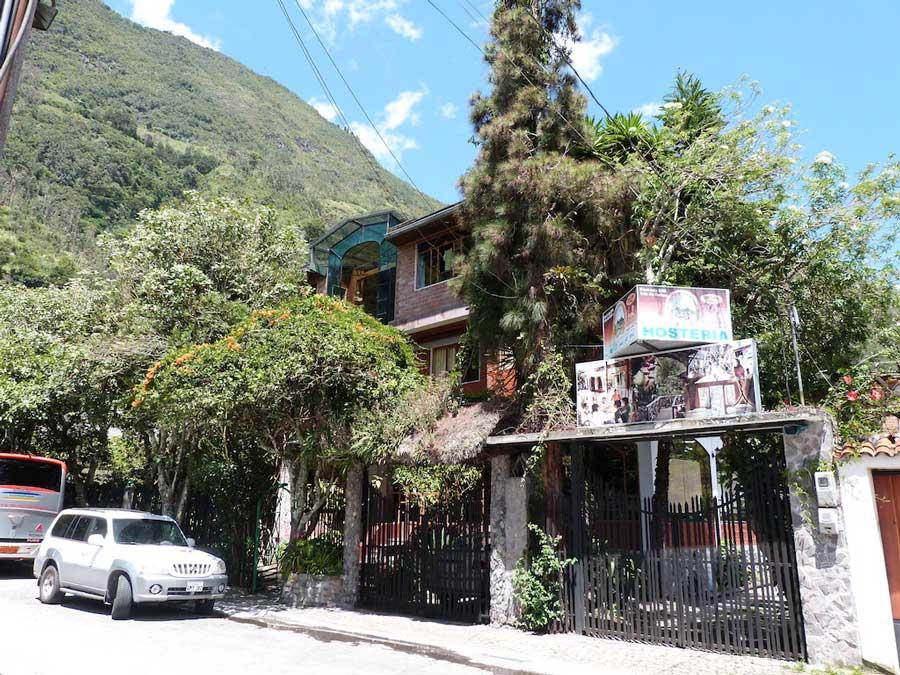 HôteI Isla de Baños, façade