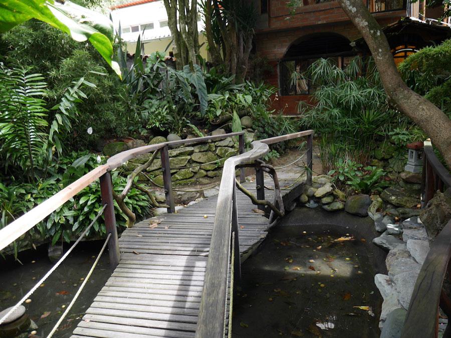 HôteI Isla de Baños, jardin