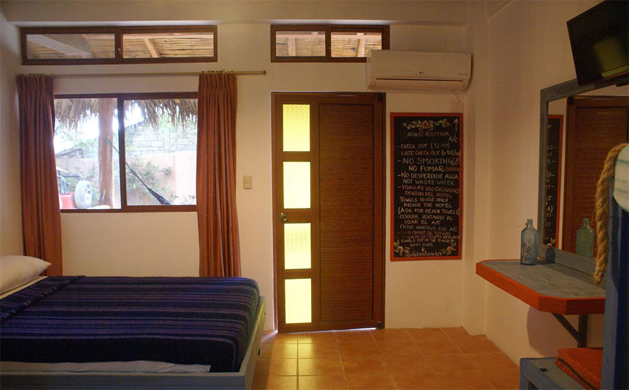 Hôtel Nantu, Puerto Lopez, chambrestandard