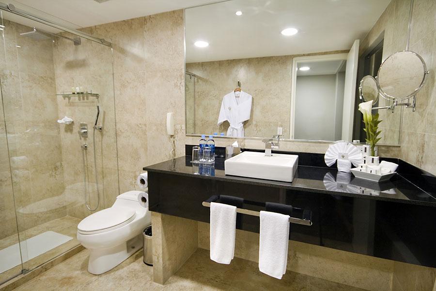 Hôtel Oro Verde, Guayaquil, salle de bain