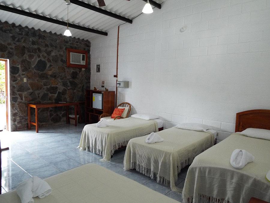 Hôtel Pimampiro, îles Galapagos, chambre familiale