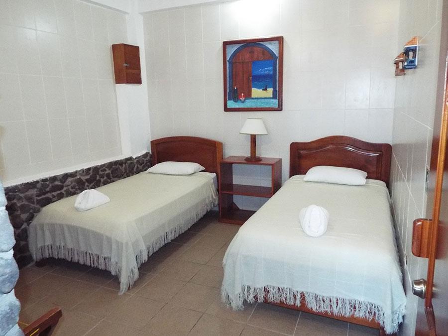 Hôtel Pimampiro, îles Galapagos, chambre double