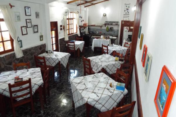 Hôtel Pimampiro, îles Galapagos, restaurant