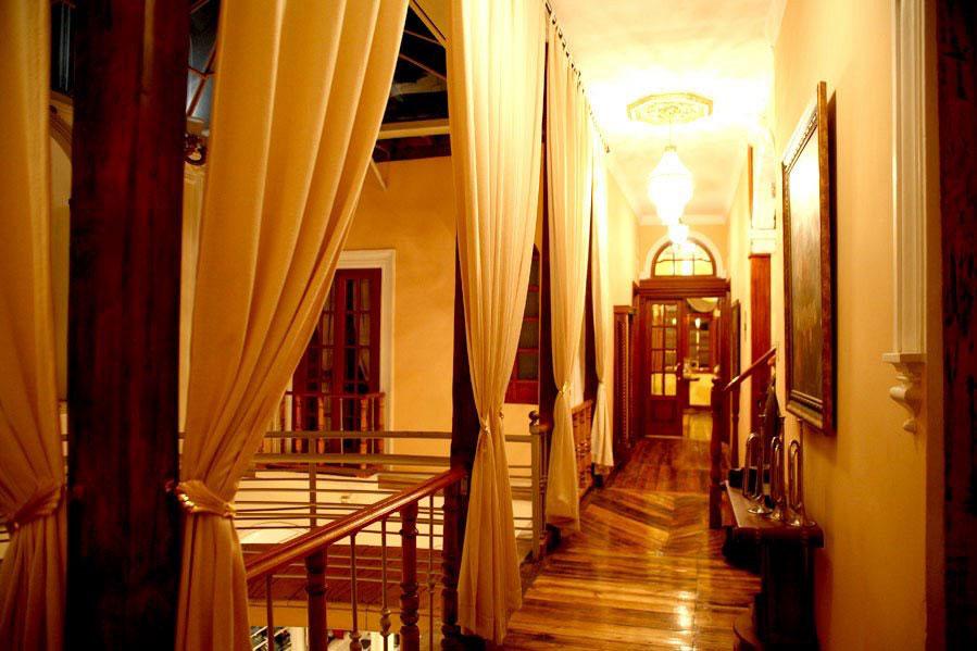 Hôtel San Pedro, Riobamba, couloir