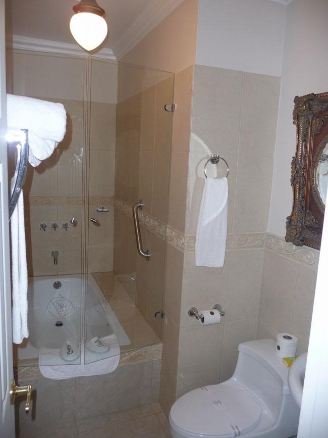 Hôtel San Pedro, Riobamba, salle de bain