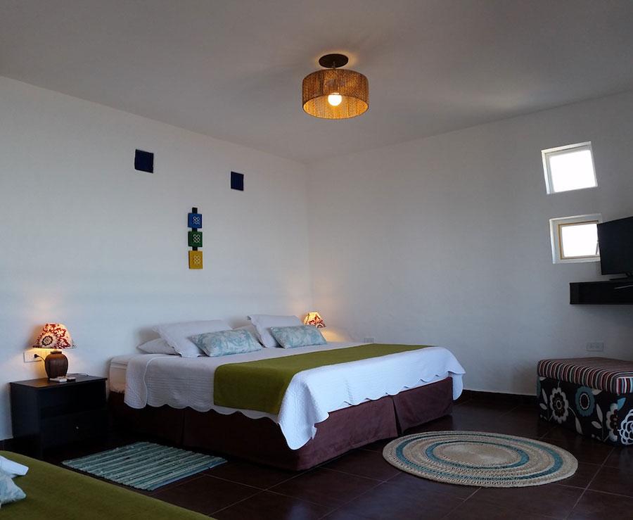 Hôtel Sanctuary, Pacifique, chambre matrimoniale