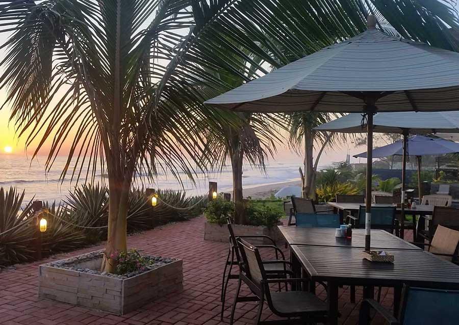 Hôtel Sanctuary, Pacifique, restaurant