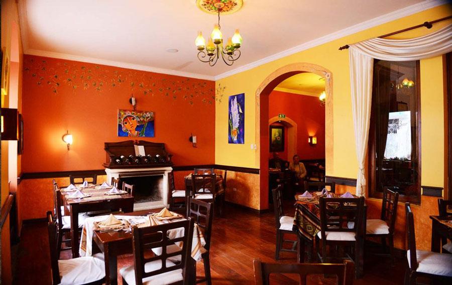 Hôtel Santa Isabella, Riobamba, restaurant