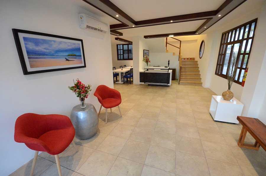 Hôtel Volcano, îles Galapagos, accueil
