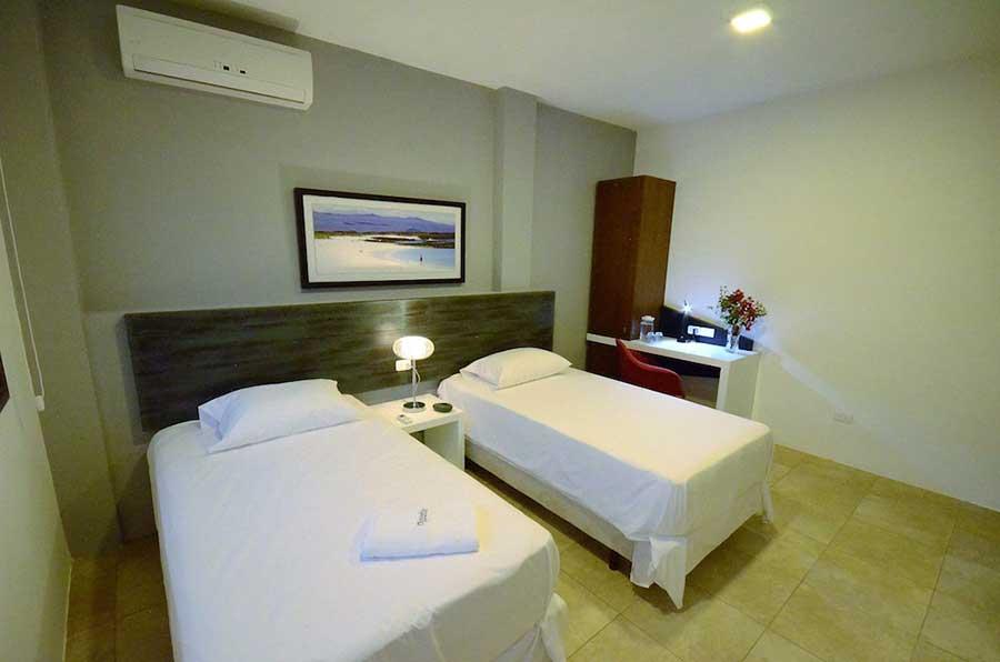 Hôtel Volcano, îles Galapagos, chambre standard