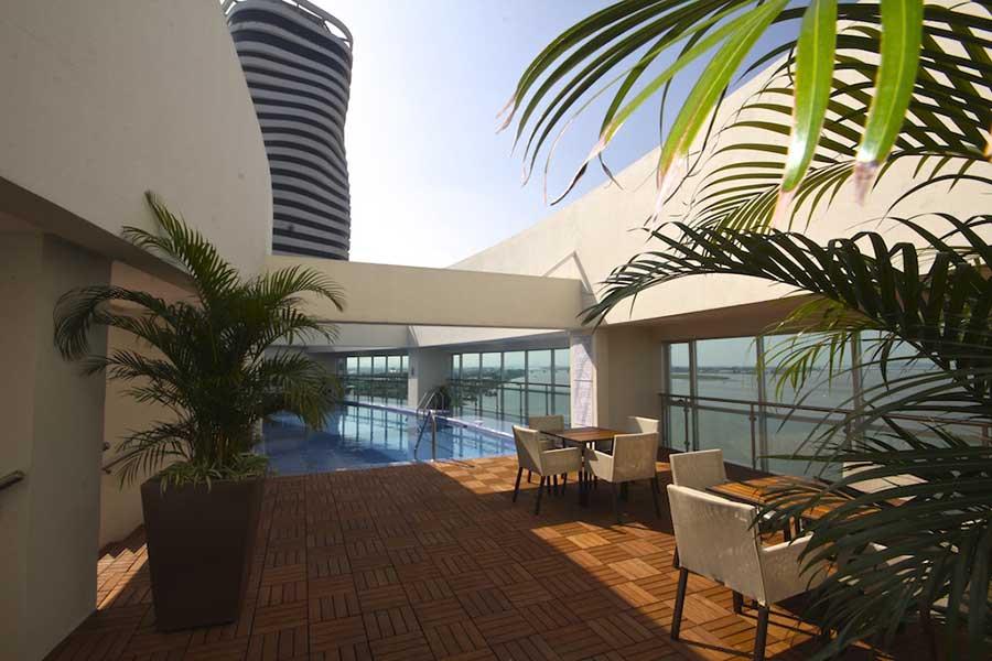 Hôtel Wyndham Guayaquil, piscine