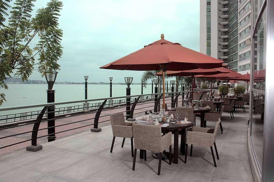 Hôtel Wyndham Guayaquil, terrasse