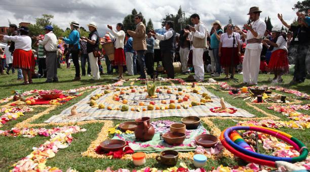 La fête du soleil - Inti Raymi - en Équateur (crédit photo: El Universo)