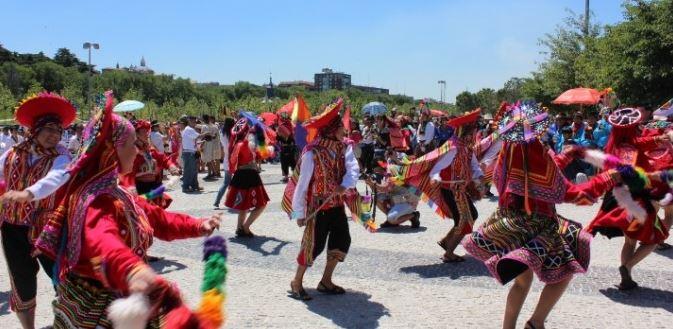 La fête du soleil - Inti Raymi - en Équateur (crédit photo: Notimundo)