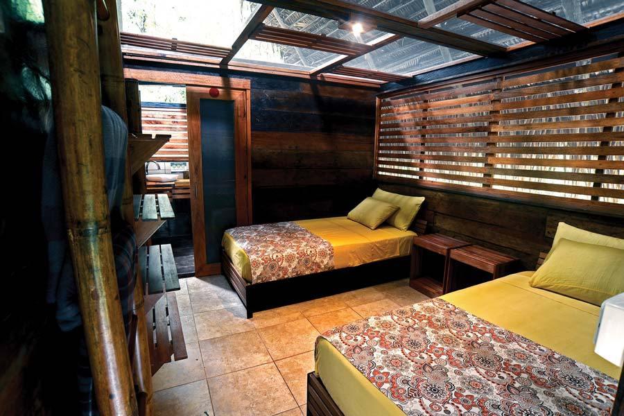 Jamu Lodge, Réserve Cuyabeno, chambre twin