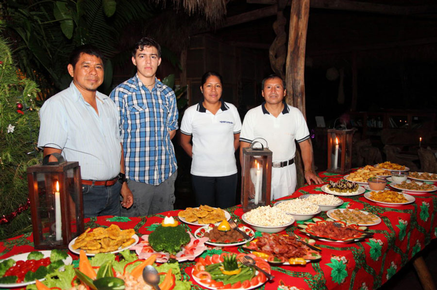 Liana Lodge, Equateur, repas