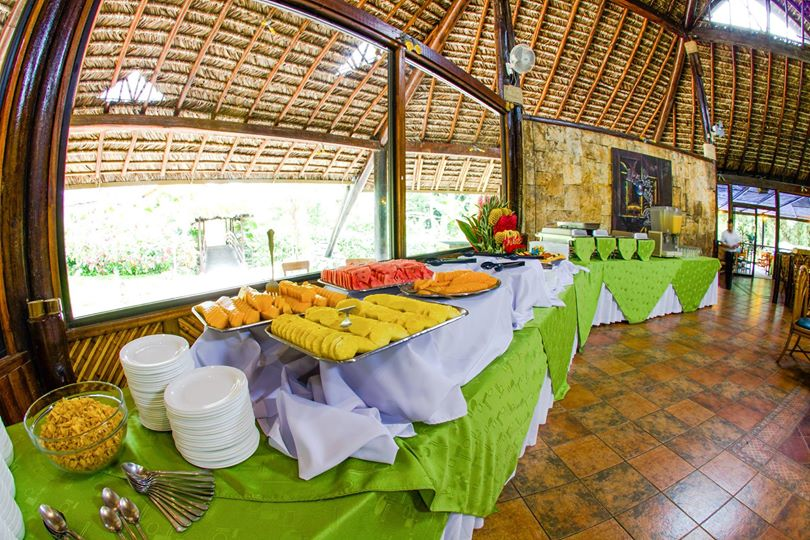Lodge Arasha, Mindo, buffet