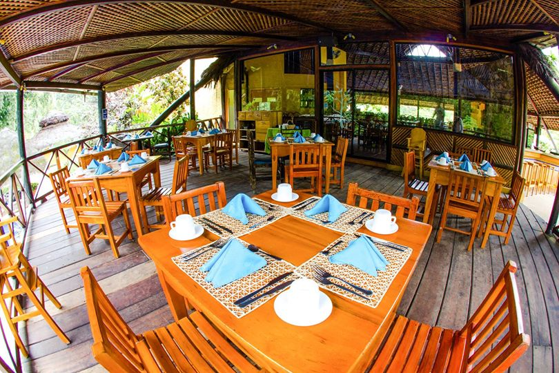 Lodge Arasha, Mindo, restaurant