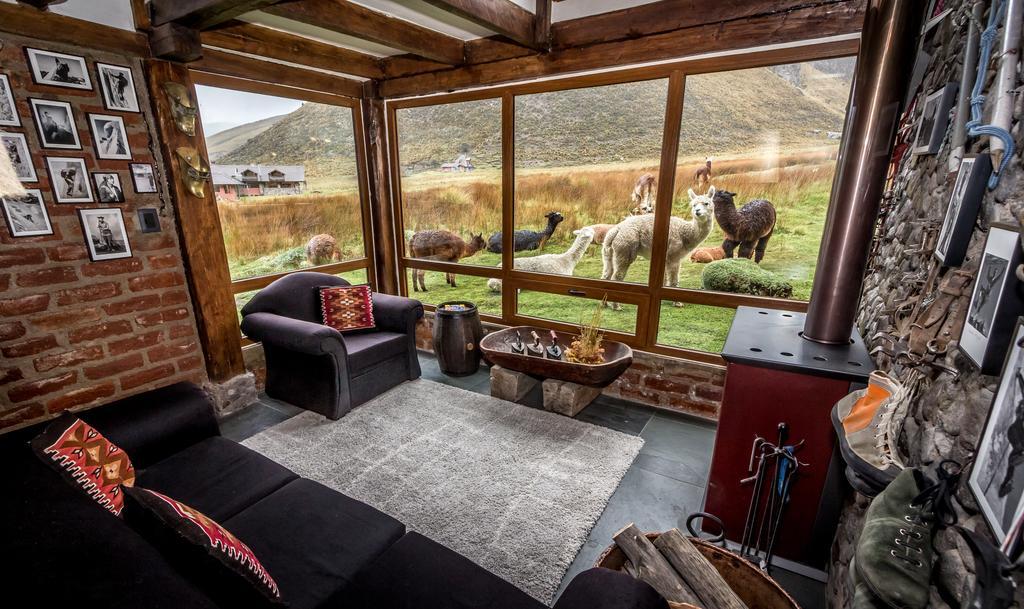 Lodge Chimborazo, salon
