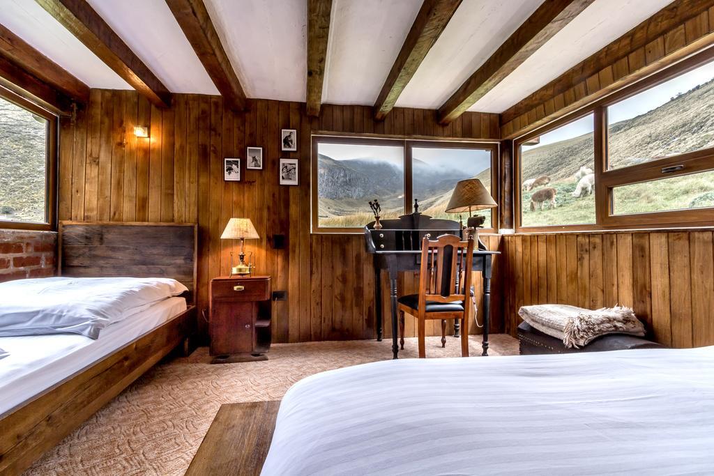 Lodge Chimborazo, cabane supérieure