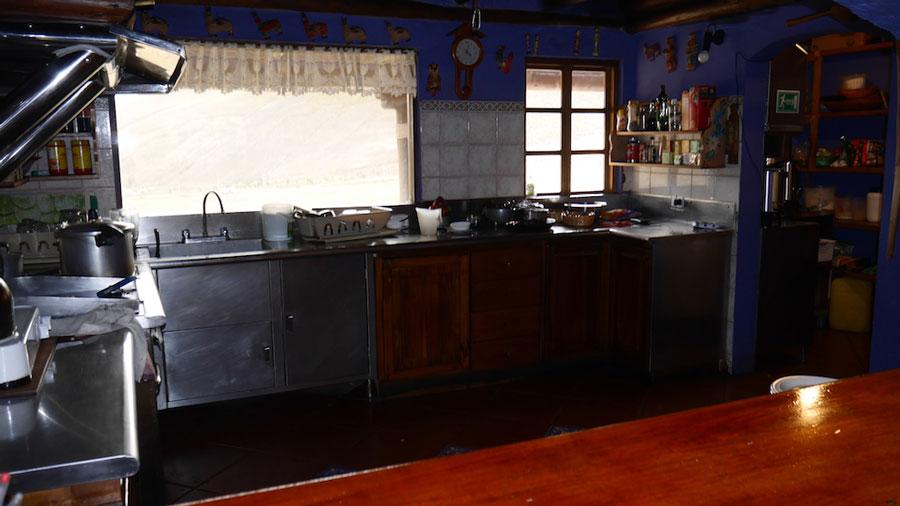 Lodge Chimborazo, cuisine