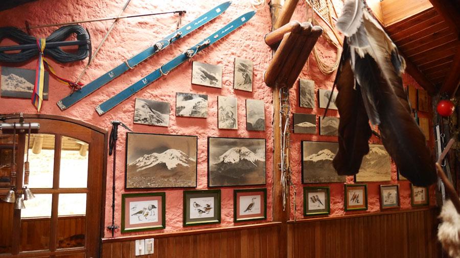 Lodge Chimborazo, décoration