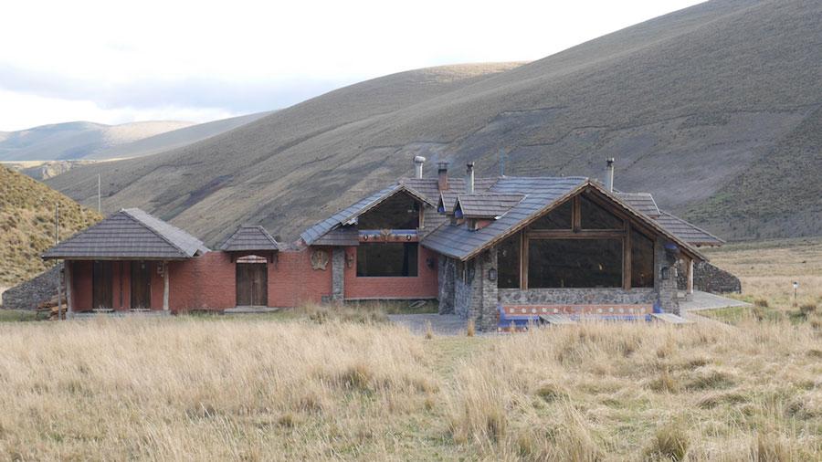Lodge Chimborazo, extérieur