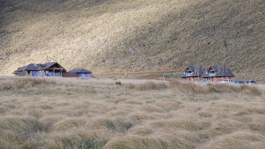Lodge Chimborazo, vue