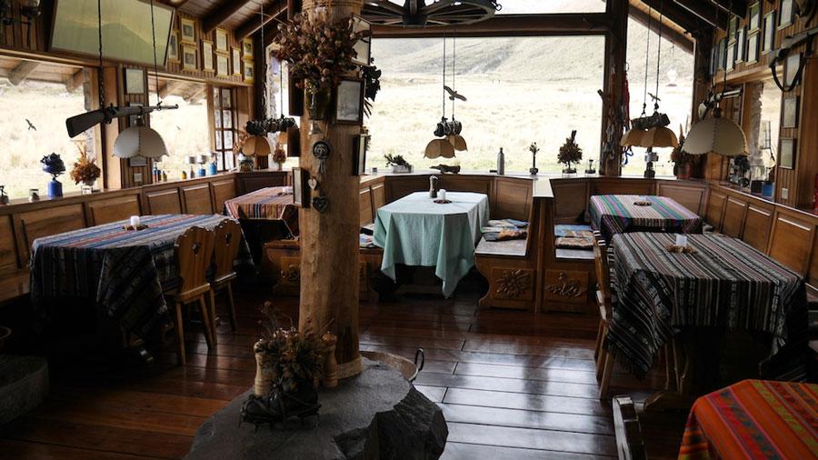 Lodge Chimborazo, restaurant