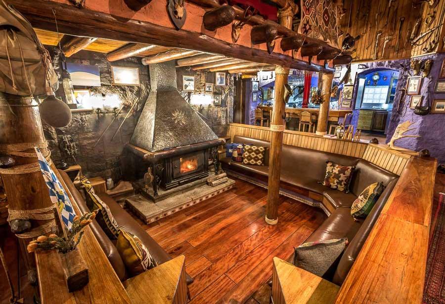 Lodge Chimborazo, salle commune