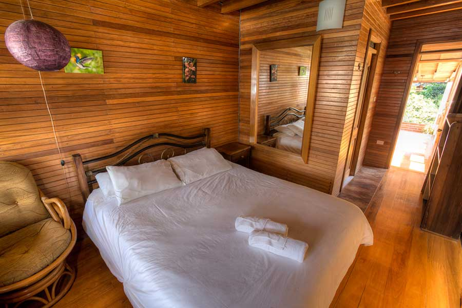 Lodge Dragon Fly, Mindo, chambre