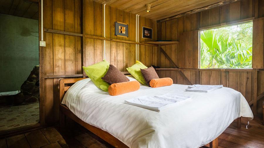 Lodge Hakuna Matata, Equateur: cabane standard