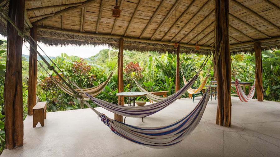 Lodge Hakuna Matata, Equateur, hamac