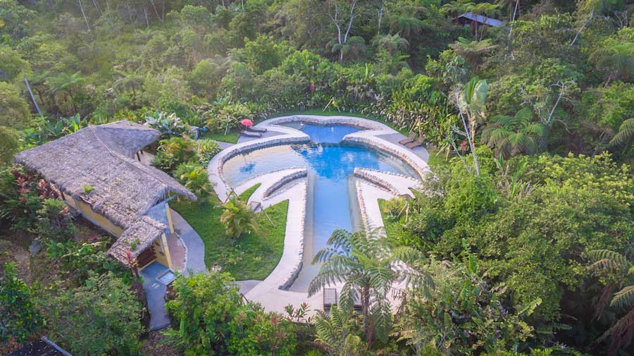 Lodge Hakuna Matata, Equateur, piscine