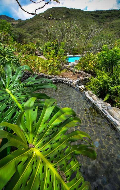Lodge Izchayluma, Vilcabamba, jardin