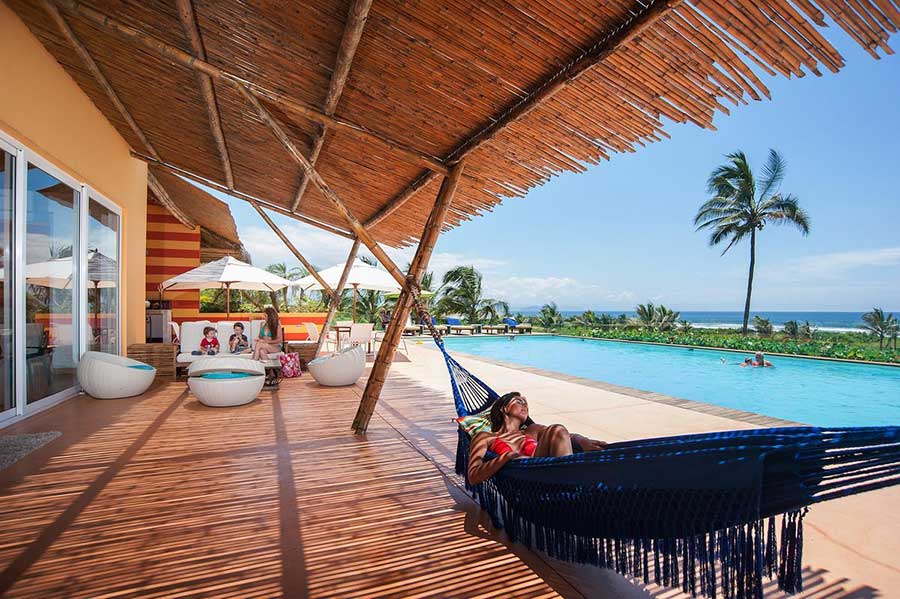Lodge Las Tanusas, pacifique, piscine
