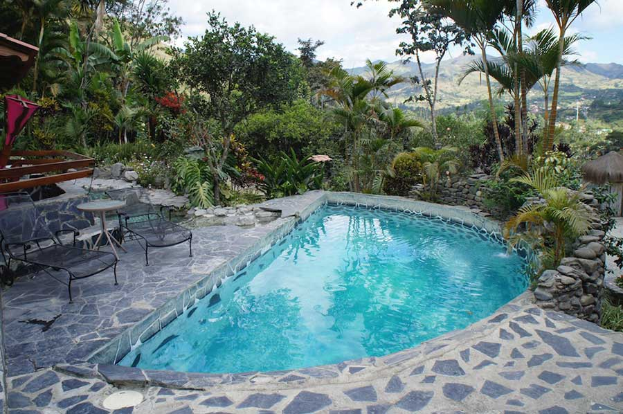 Lodge Madre Tierra, Vilcabamba, piscine