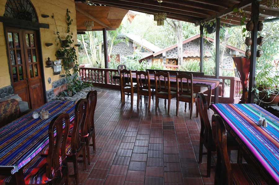 Lodge Madre Tierra, Vilcabamba, restaurant