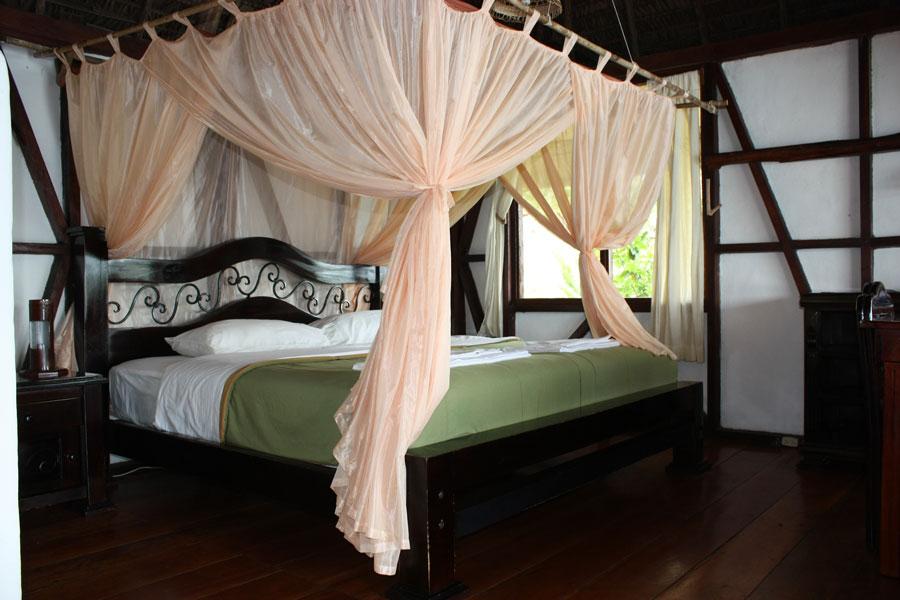 Lodge Napo Wildlife, Yasuni, Equateur, cabane standard