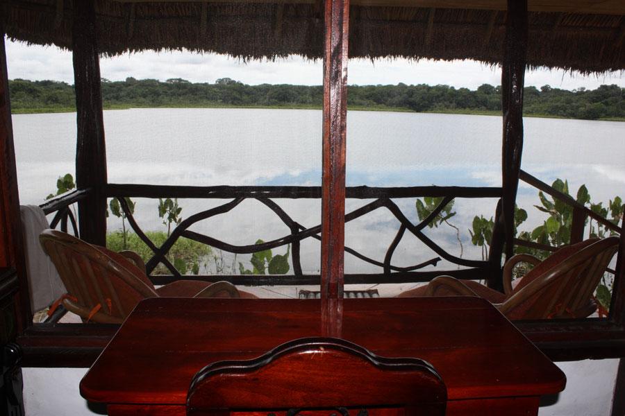 Lodge Napo Wildlife, Yasuni, Equateur, terrasse