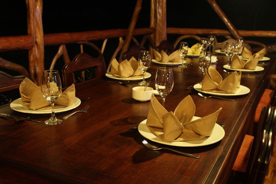 Lodge Napo Wildlife, Yasuni, Equateur, restaurant