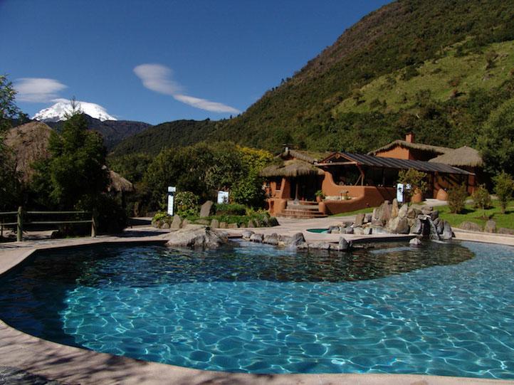 Lodge Termas de Papallacta, Equateur, piscine
