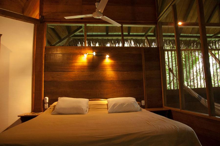 Sacha Lodge, Parc Yasuni, chambre